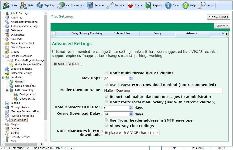 vpop3 software